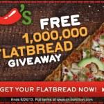 Chili's Flatbread Giveaway