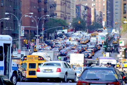 Manhattan traffic_jam