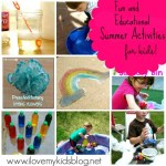 Fun and Educational Activities for kids. What to do with kids this summer?