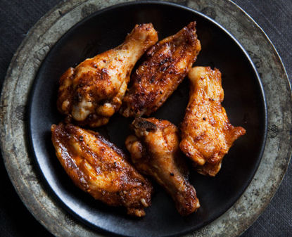 Barbecued Buffalo Wings