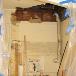 Kitchen renovation continues: Dealing with well built and ripping marble tile floors