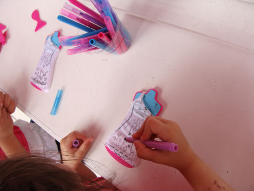 create, customize their own Barbie outfit to take home