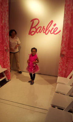 fashion runway experience Barbie