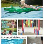 10 DIY Cool Water Activities for kids