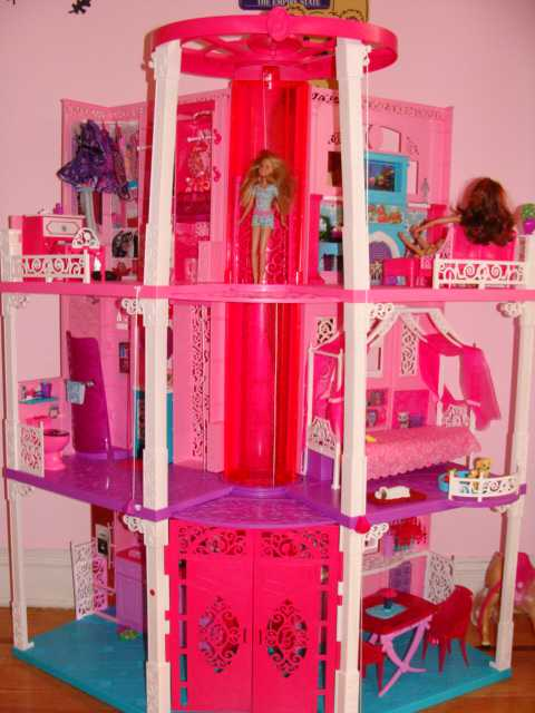 The All New, Renovated, 3-story Barbie Dream House 2013 is out