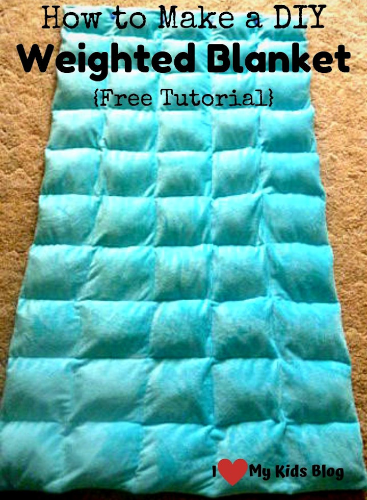 How to make a DIY Weighted Blanket, Tutorial