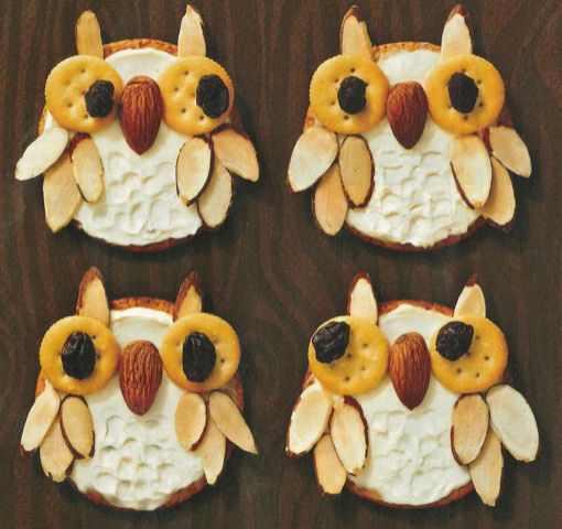 diy owl cracker healthy fun snack for kids
