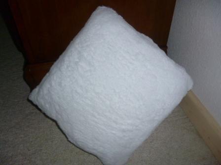 Bright light pillow square