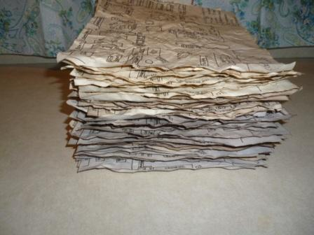 How to make old looking paper repeat
