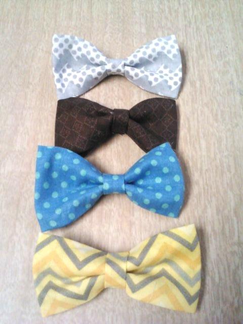 4 bow ties