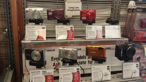 digital cameras at radioshack