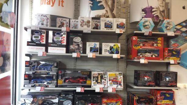 toy section radioshack