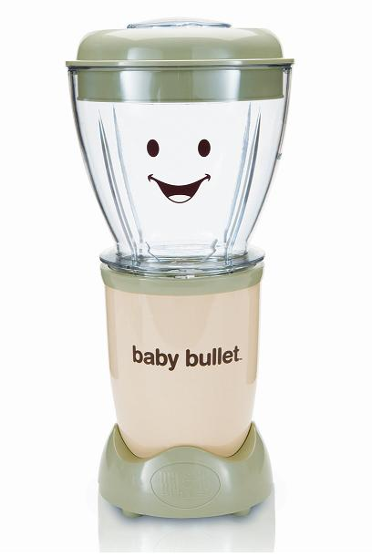 Have a healthy baby by making food with the Baby Bullet