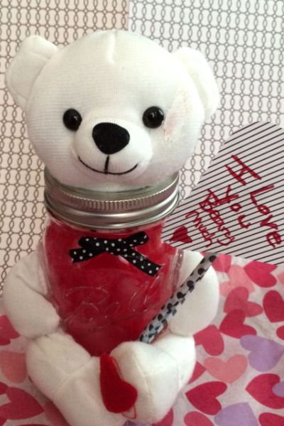 Quick and Cute Valentine's Day Jar Craft (Bear)