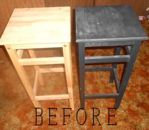 stools before