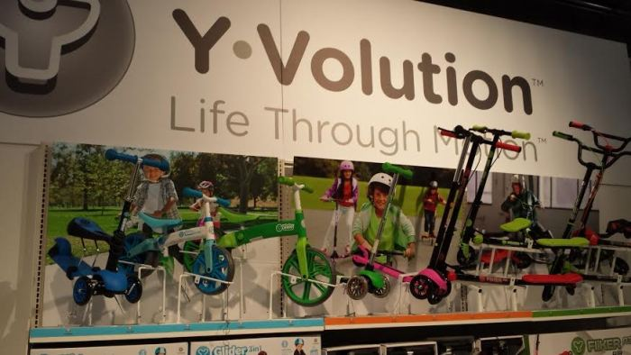 yvolution scooters