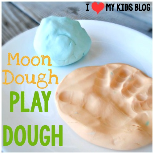 Moon Dough play dough! Softest Play Dough EVER! - only 2 ingredients!