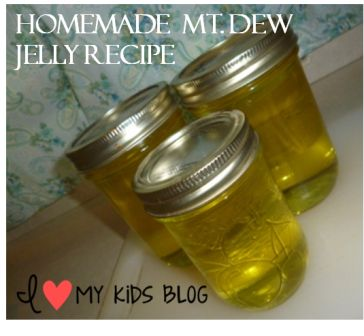 How to make Mt dew jelly  4
