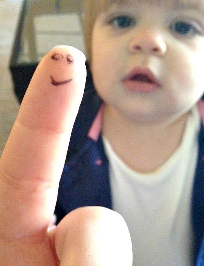 Peek a boo Finger
