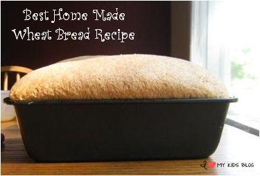 Best Home Made Wheat Bread Recipe button small