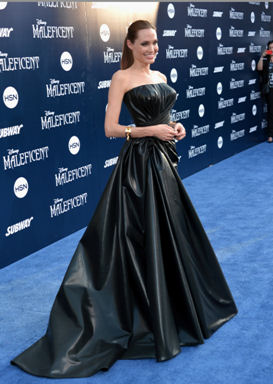 angelina jolie maleficent blue carpet premiere
