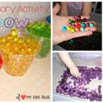 Water Beads Sensory Activity for Toddlers! A great way to keep cool during the summer!