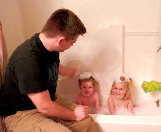 Bath Time with Aveeno