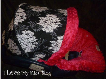 Car seat canopy whole caboodle shade