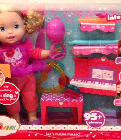 Little Mommy- Let's Make Music Doll Review