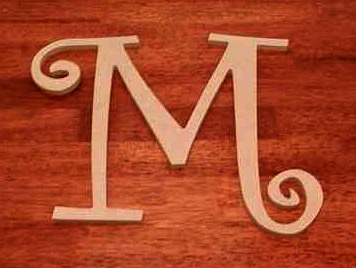 Craft Cuts Letter M