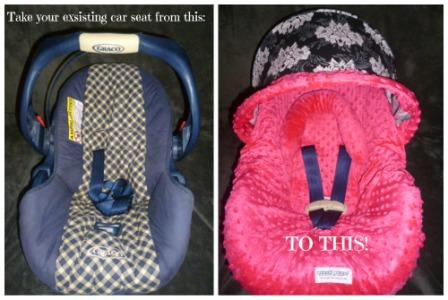 car seat caopy whole caboodle button