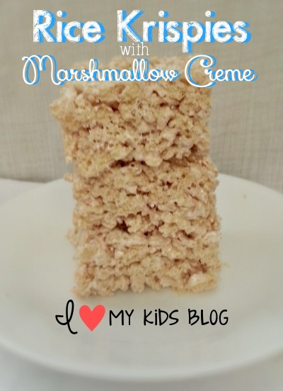 Best Ever Rice Krispie Treats! One ingredient I never thought of adding!