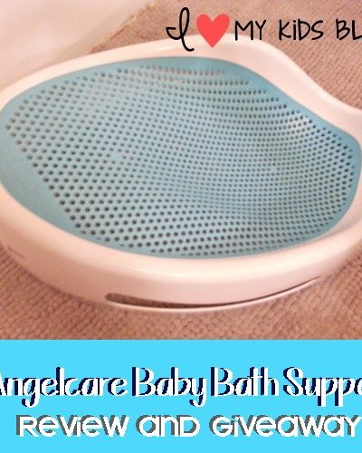 A safe way to bath your newborn baby! Angelcare Baby Bath Support {Review & Giveaway}