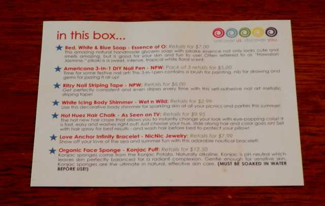 Boodle Box card