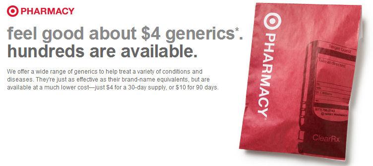 target 4 generics