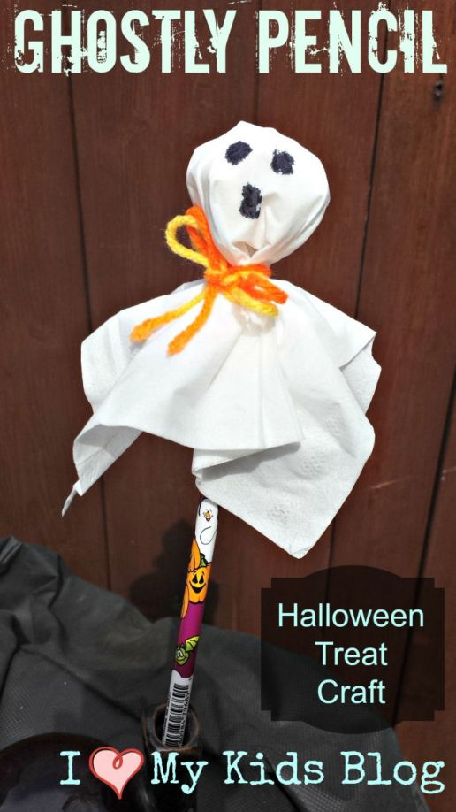 Ghostly-pencil-halloween-craft
