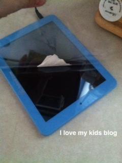 Little Scholar Tablet  peel plastic