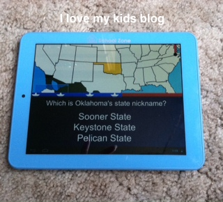 Little scholar tablet geography