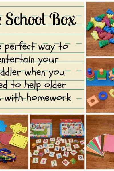 The Perfect Way to Entertain Your Toddler,  When You Need to Help Your Kids With Homework