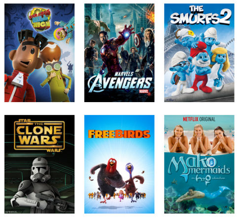 family movies netflix big kids