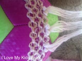 DIY Elsa Yarn Wig 7