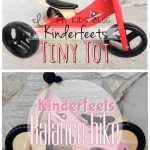 A balance bike for babies and toddlers! Kinderfeets Push bike & Tiny Tot {Review & Giveaway}