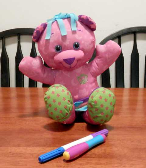 Glowing Doodle Bear