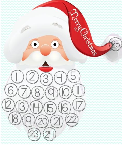 Christmas Countdown Santa Beard.Merry.Christmas-resized