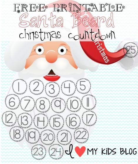 photo relating to Printable Christmas Countdown identified as Free of charge Xmas Printables Xmas Countdown Bucket Checklist