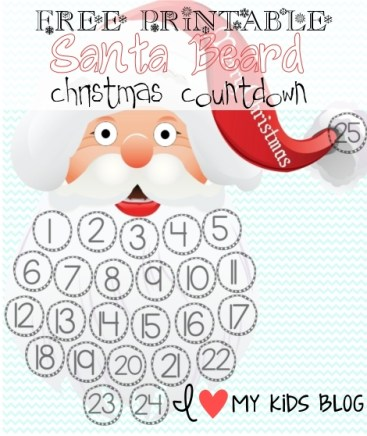 Christmas Countdown Santa Beard.Merry.Christmas-resizedfree