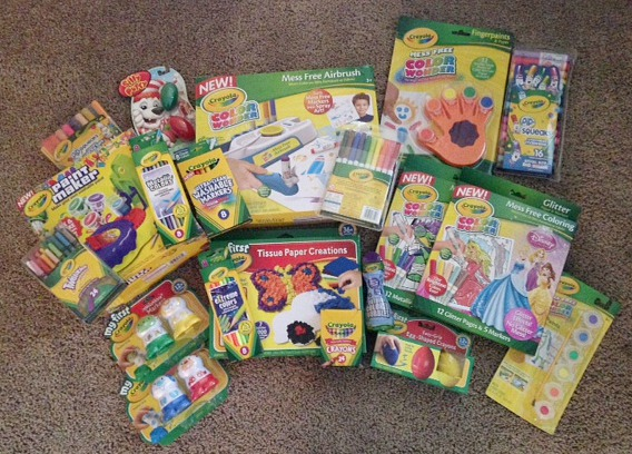 crayola gift guide for all your coloring needs review