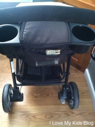 Graco Aire3 Click connect mesh pocket