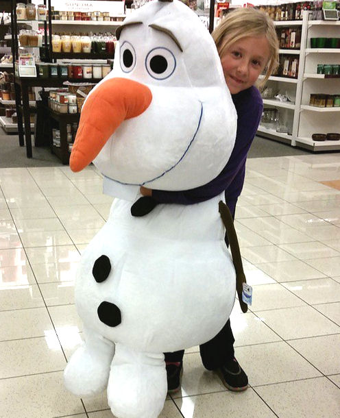gigantic olaf at kohls