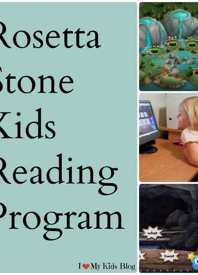Make Learning to Read Fun with Rosetta Stone Kids Reading Program